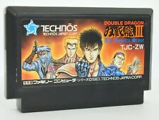 Famicom DOUBLE DRAGON III 3 Cartridge Only Nintendo Japan Game fc *