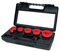 RUKO 8pcs. Hole Saw Kit HSS, 22.0mm - 68.0mm MADE IN GERMANY
