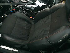ALFA ROMEO GIULIETTA BLACK LEATHER  FRONT & REAR SEATS