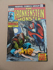 Frankenstein 9 . Death Of Dracula . Marveel 1974 . VF