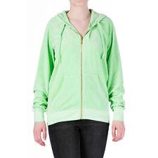 JUICY COUTURE Designer Jacket Hoodie Velour Hoodie Green Size XS 6