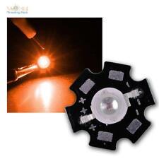 5er Pack Hochleistungs LED Chips auf Platine 3W Orange HIGHPOWER LEDs amber