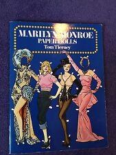 Dover Celebrity Paper Dolls: Marilyn Monroe Paper Dolls by Tom Tierney (1985, Pa