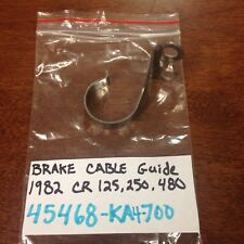 HONDA 1982 CR250R 79 CR125R CR480R FRONT BRAKE CABLE GUIDE VINTAGE MOTOCROSS NOS