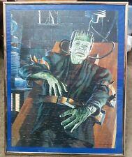 "1990 FRANKENSTEIN PUZZLE UNIVERSAL PICTURES 14"" X 18"""