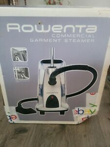 Never used Rowenta Commercial Garment Steamer  Is 7600 (With Box Damage)
