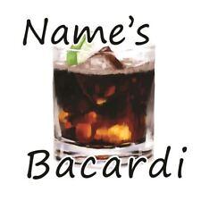 Personalised Coaster - Bacardi!