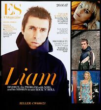 LIAM GALLAGHER OASIS BEADY EYE TAYLOR SCHILLING PAMELA ANDERSON ES MAGAZINE 2017
