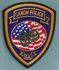CANON GEORGIA POLICE PATCH