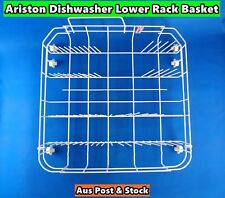 Ariston Dishwasher Spare Parts Lower Rack Basket Replacement (White) (S194) Used