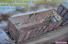 Dragon DML 1/35 GMN RAILWAY GONDOLA TYP OMMR w/AA Gun Crew #6086 *sealed*