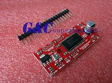 2Pcs  NEW EasyDriver Shield stepping Stepper Motor Driver V44 A3967 Arduino M31