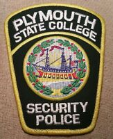 NH Plymouth State College New Hampshire Security Police Patch