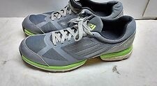 Adidas Adizero Men's Synthetic Gray Green Blue Athletic Golf Sneakers Shoes 12 M