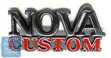 1975-79 Chevrolet Nova Custom Fender / Trunk Emblem