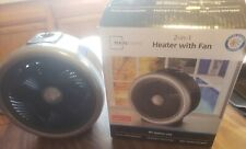New (Other). Mainstays 2-in-1 Heater With Fan! All Season Use!
