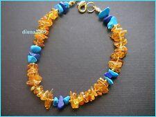 Handmade Amber Beaded Fine Bracelets