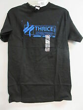 NEW - THRICE BAND / CONCERT / MUSIC T-SHIRT SMALL