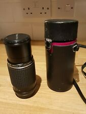 SMC PENTAX M 80-200mm 1:4.5 Zoom Lens think fits PENTAX K PK SLR DSLR with case