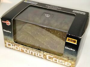 Can. Do DISPLAY DIORAMA CASE WITH DESERT BROWN COLORED DIORAMA BASE