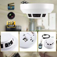 1080P HD SPY DVR Hidden Camera Smoke Detector Night Vision Video Recorder DV Cam