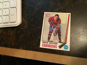 15 1968-69 1969-70 OPC Montreal Canadiens Set Beliveau Serge Savard RC Lemaire