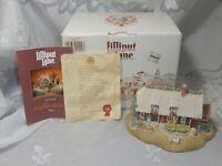LILLIPUT LANE 1990 LA CHAUMIERE DU VERGER FRENCH COTTAGE HOUSE SCULPTURE IN BOX