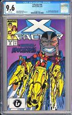 X-Factor #19 CGC 9.6 White Pages 1987 3744677014 Horsemen & Apocalypse App