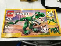 LEGO Creator Mighty Dinosaurs 31058 3 In 1 Building Set 174 Pieces Sealed New