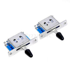 2 Pcs 5 Way Pickup Guitar Selector Switch for Fender Strat Guitar Parts