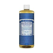 Dr. Bronner Organic Peppermint Pure-Castile Liquid Soap  946ml