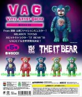 Medicom VAG Vinyl Artist Gacha Series 13 Milk Boy Toys The IT Bear Sofubi 5pcs
