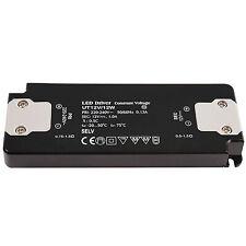 Alimentatore trasformatore SLIM 12W 1000mA 12V DC lampade faretti LED 220V IP20