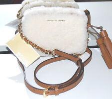 Michael Kors Tasche Neu Jet Set Travel Chain Crossbody Fur Handtasche Bag Pelz