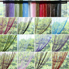 2 Pack Magik Line String Window Curtain Tassel Door Fringe Panel Room Divider