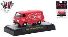 M2 Machines 1:64 Coca-Cola Hobby 1965 Ford Econoline Delivery Van Diecast Model