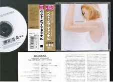 MADONNA Something To Remember+1 JAPAN CD WPCR-1377 w/OBI+INSERT 1997 reissue