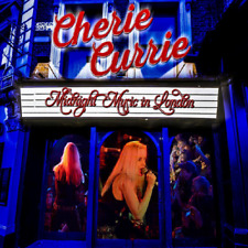 "Cherie Currie of The Runaways ""Midnight Music in London"" Live CD"