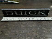 "1965-1975 ""BUICK""- Schriftzug/Script Kühlergrill/Grill(#1239970 PMC 2),orig.GM"