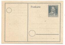 Gemeinschaftsausgabe 1947 - Gedenkkarte P 965, 50. Todestag Heinrich v. Stephan