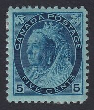 CANADA 1899 MINT #79, 5c QUEEN VICTORIA NUMERAL ISSUE !! A54