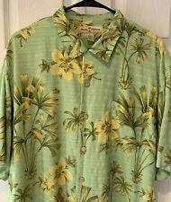 Tommy Bahama Mens Shirt Large Silk Tropical Print