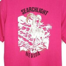 Searchlight Nevada T Shirt Vintage 90s Desert Bighorn Sheep Made In USA Size XL