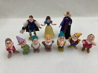 Disney Snow White & The Seven Dwarves With Prince Charming And The Queen 1993