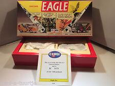 Corgi classics dan dare eagle gift set vw van and bedford ca van ovp