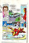 Original 1983 Invincible Iron Man 177 page 3 Marvel Comics color guide artwork