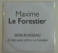 MAXIME LE FORESTIER : MON RUISSEAU ♦ Rare CD Single ♦ 2020 /19