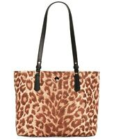Kate Spade Taylor Leopard Nylon Medium Tote ~NWT~