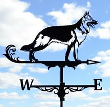 German Shepherd Metal Weathervane Roof Mount police dog Alsatian FREE SHIPPING