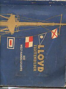 Lloyd Flottenbilder Welt-Handelsflotte komplett